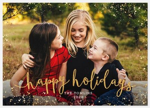 Holiday Glitz Holiday Photo Cards