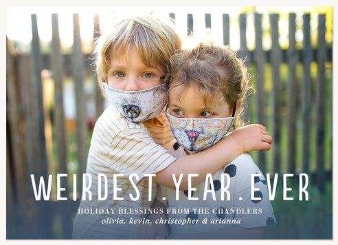 Weirdest Year Photo Holiday Cards