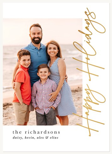 Modernista Photo Holiday Cards