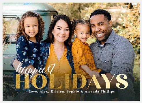 Holiday Prep Holiday Photo Cards