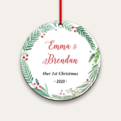 New Families Personalized Ornaments