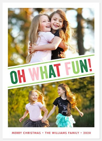 So Much Fun  Holiday Photo Cards