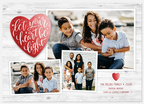 Light-Hearted Holiday Photo Cards