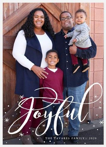 Spun Sugar Holiday Photo Cards