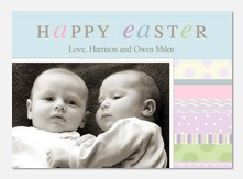 Easter Photo Cards - Eggstatic