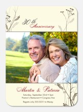 50th Wedding Anniversary Invitations - Sweet