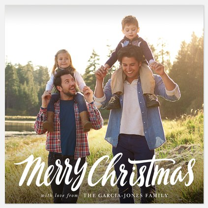 Lighthearted Tidings Holiday Photo Cards