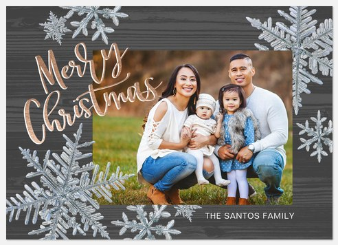 Jack Frost Holiday Photo Cards