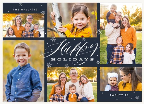 Snowfall Gallery Personalized Holiday Cards