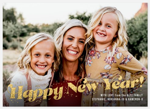 Oh So Happy Holiday Photo Cards