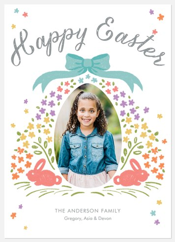 Blessed Bouquet Easter Photo Cards