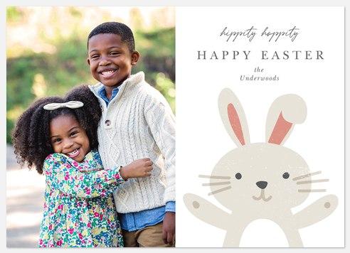 Hippity Hoppity Easter Photo Cards