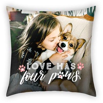 Four Paws Custom Pillows