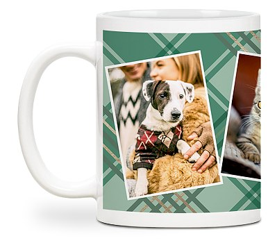 Pet Plaid Custom Mugs