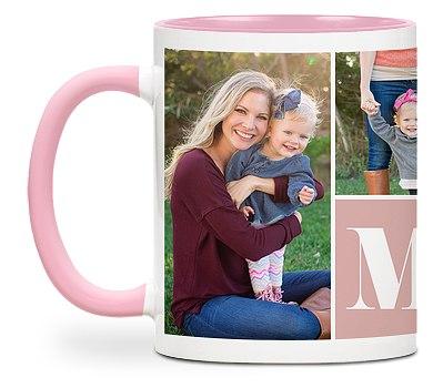 Mom Heart Custom Mugs