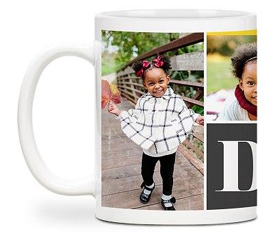 Dad Heart Custom Mugs