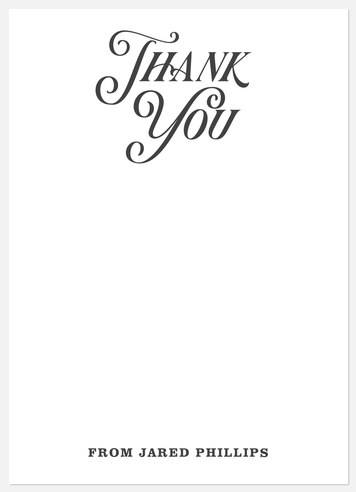Vintage Inspired Thank You Cards