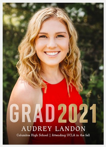 Year of Bold Graduation Cards