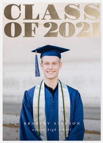 Gleaming Grad Graduation Cards
