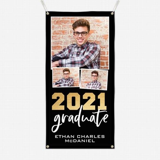 Graduate Trio Graduation Banners