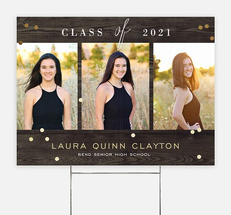 Country Barn Graduation Yard Signs