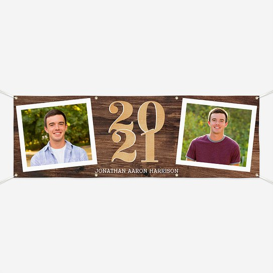 Country Snapshots Graduation Banners