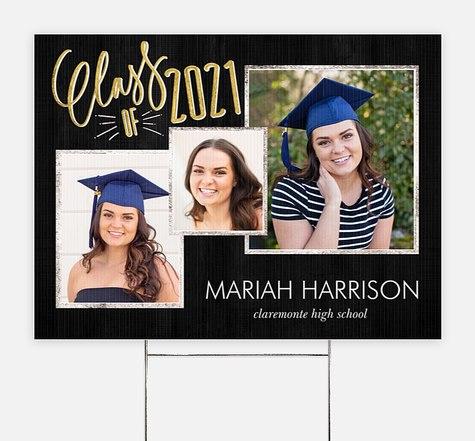 Good As Gold Graduation Yard Signs