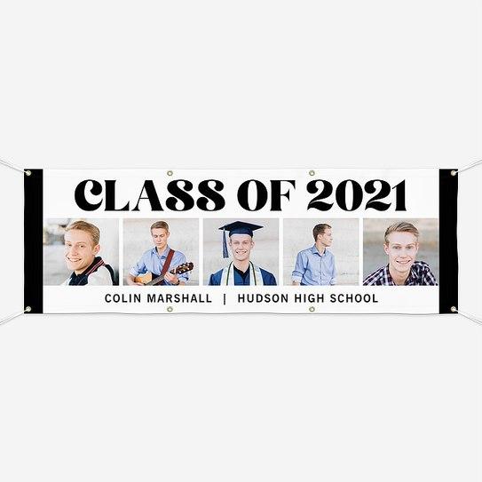 Boldest Class Graduation Banners