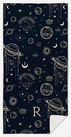 Celestial Custom Beach Towels