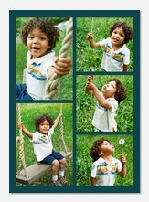 Photo Announcements - Teal Frame 5