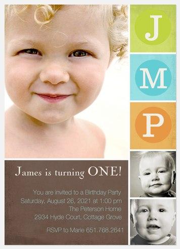 What A Star! Kids' Birthday Invitations