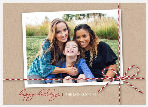 Crafted Gift Holiday Photo Cards