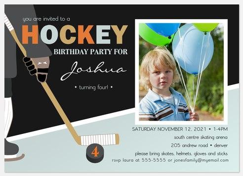 Super Sticks Kids' Birthday Invitations
