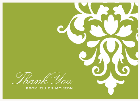 Thank You Cards , Beautiful Bouquet Design