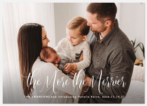 Merrier Holiday Photo Cards