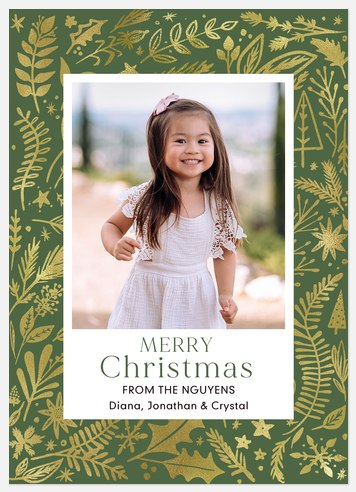 Winter Tapestry Holiday Photo Cards