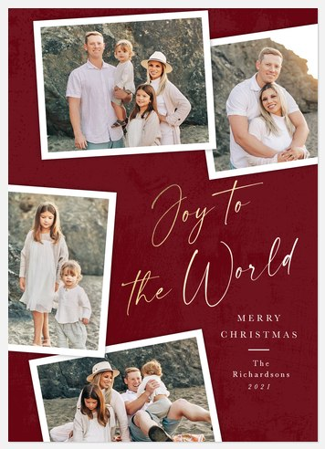 Holiday Chic Holiday Photo Cards