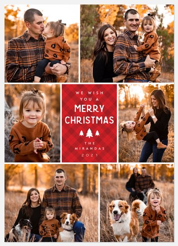 Cozy Cheer Holiday Photo Cards