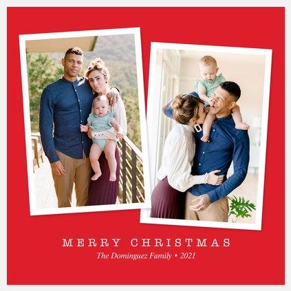 Snapshot Duo Holiday Photo Cards