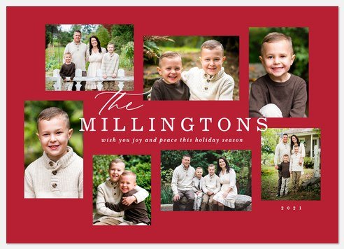 Classic Gallery Holiday Photo Cards