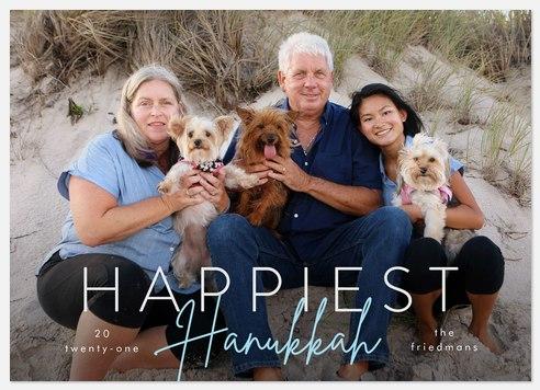 Scripted Hanukkah Hanukkah Photo Cards