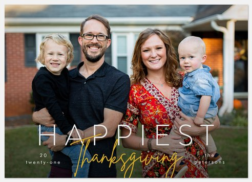 Happiest Thanksgiving Thanksgiving Cards