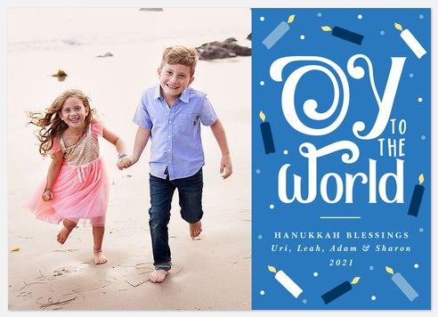 Oy to the World Hanukkah Photo Cards