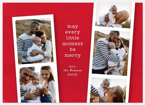 Merry Moments Holiday Photo Cards