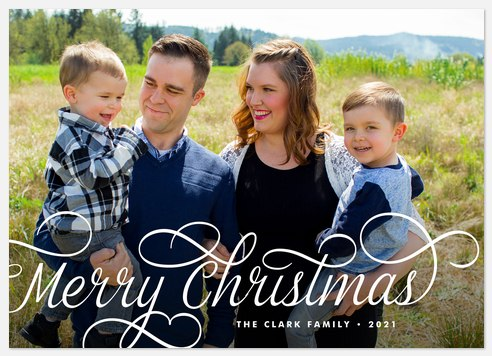 Sleigh Ride Holiday Photo Cards