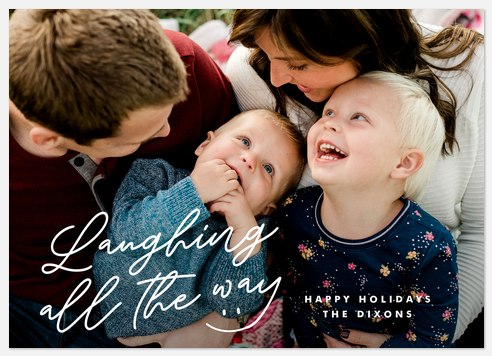 Laughs & Smiles Holiday Photo Cards