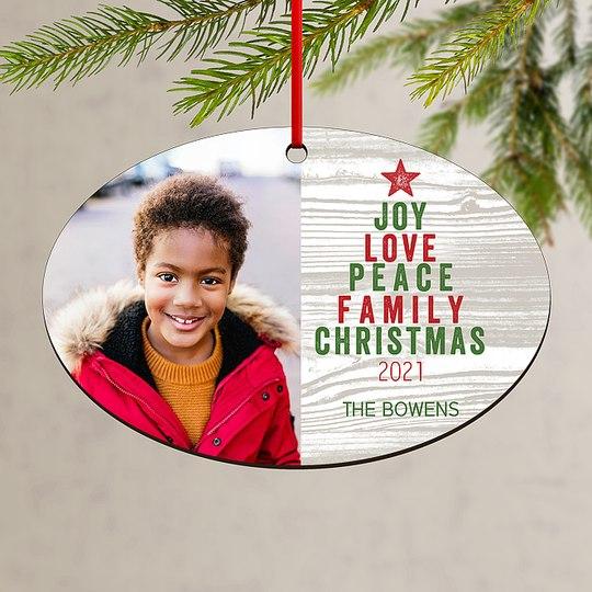 Family Tree Custom Ornaments