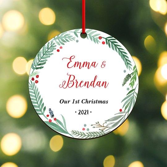 New Families Custom Ornaments