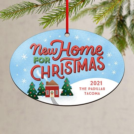 Christmas Home Custom Ornaments